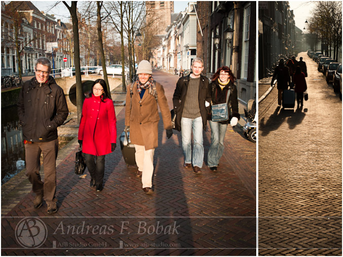 Visiting George in Delft
